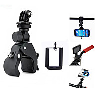 Universal 3-In-1 Quick Installation Bicycle Tripod Mount for Camera / Cell Phone / GoPro Hero Series And Others