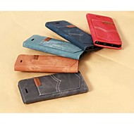 Denim Pattern With a Standoff Holster for IPhone 6(Assorted Colors)