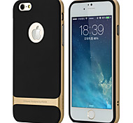 Rock New Shockproof Hard Bumper Soft Case Cover For i6