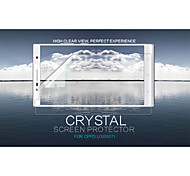 cristal nillkin filme protetor de tela anti-impressão digital clara para oppo u3 (6607)