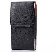 PU Leather Litchi Wave 5 inch Universal Case for Samsung Galaxy S5/S6