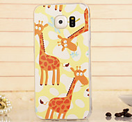 Magic Spider®Deer TPU High Quality Soft Back Case Cover with Screen Protector for Samsung Galaxy S6