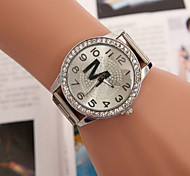 Men's Watches Trendy Diamond Steel Watch