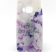 Beautiful Life Pattern Soft TPU Case for HTC M9/HTC One M9