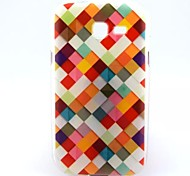 Color Diamond Pattern TPU Soft Cover  for Samsung Galaxy Trend Lite7390/7392