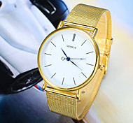Women's Round Dial Case Alloy Watch Brand Fashion Quartz Watch(More Color Available)