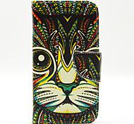 cat pattern die innen lackiert Karten für Samsung-Galaxie s5