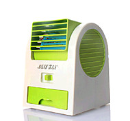SHQianJiaTian®Creative Students USB Mini Air Conditioner Fan Battery Fragrance Hakaze Fan 1360