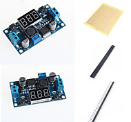 LM2596 DC-DC Adjustable Step-Down Module With A Voltage Meter Display and Accessories