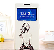 Cellphone Case Proetction with Drawing cartoon Shell for Sony Xperia T2