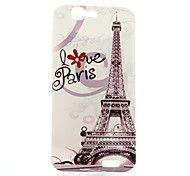 For Huawei Case Pattern Case Back Cover Case Eiffel Tower Soft TPU Huawei Huawei G7