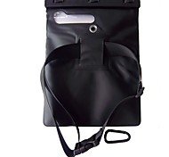 WB-09A 12 Inch IPad Air/IPad 2/3/4 Waterproof Case with Matching ABS clip,Shoulder Strap and Hook
