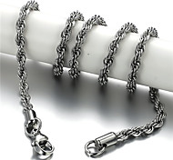 Titanium Steel Necklace Chain Necklaces Daily/Casual/Sports