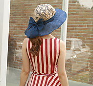 Summer Sunscreen Folding UV Straw Floppy Hat