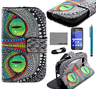 Para Soporte de Coche / Cartera / con Soporte / Flip / Diseños Funda Cuerpo Entero Funda Elefante Dura Cuero Sintético Samsung Young 2