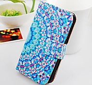 The Large Flowers Around Stand PU Leather Case For Samsung Galaxy S2 SII I9100
