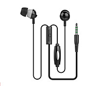IN-3 3.5mm Jack In Ear Headphones with Mic for iPhone 6 5s HTC Xiaomi MP3 MP4