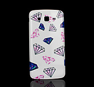 diamantpatroon deksel fo Samsung Galaxy Grand 2 g7106 case