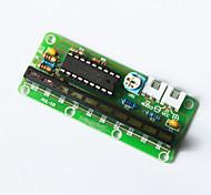 módulo de placa indicadora LM3915 10-nivel - verde + multicolor
