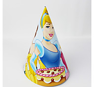 Princess Paper Hat 12pcs