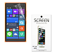 Ultra Thin High Transparency Soft Protective Screen Protector for Nokia Lumia 830