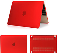 Full Body Matt Rubberized Hard Cover Case for New 12 inch Apple Mac Macbook (Assorted Color)