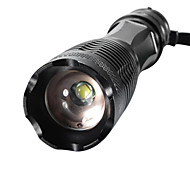 XM-L T6 2000Lumens High Power Torch Zoomable LED Flashlight