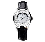 Men's Water-Resistant Black Dial Alloy Band Quartz Analog Wrist Watch(SU14-A30101-01)