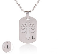 Personalized Jewelry Stainless Steel  Silver Necklace