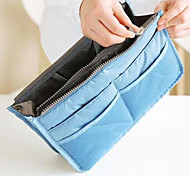 Handbag Organiser Makeup Storage Purse Large liner Organizer Tidy Bag Pouch(Random Color)