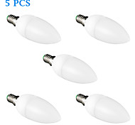 5 pcs FRANLITE E14 5 W 8 SMD 3022 420 LM Warm White C Candle Bulbs AC 220-240 V