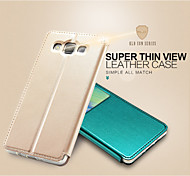 KALAIDENG Sun Series Super Thin View Leather Case for Galaxy A5