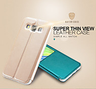 KALAIDENG Sun Series Super Thin View Leather Case for Galaxy A3