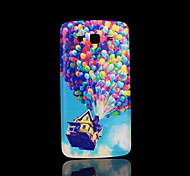 ballon patroon deksel fo Samsung Galaxy Grand 2 g7106 case