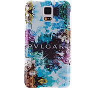 Abstract Painting Pattern Ultra Thin TPU Soft Back Cover Case for Samsung Galaxy S5 I9600