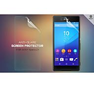 NILLKIN Anti-Glare Screen Protector Film Guard for Sony Xperia Z4