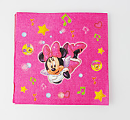 minnie servilletas ratón 20pcs