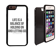 Life Design 2 in 1 Hybrid Armor Full-Body Dual Layer Shock-Protector Slim Case for iPhone 6 Plus