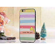 TPU Material Double Color Rainbow Model Style for iPhone 6 (Assorted Colors)