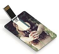 32gb fazer um drive flash card USB padrão de design carta de desejos