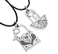Fashion Butterfly Frog Pendant Necklace(A Couple)