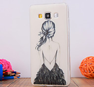 For Samsung Galaxy Case Pattern Case Back Cover Case Sexy Lady TPU Samsung A5