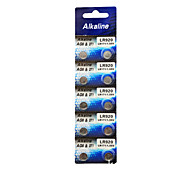 ALKALINE AG6 LR920 371A 171 SR920SW High Capacity Button  Batteries (10PCS)