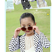 The New South Children's Sunglasses Sunglasses Cool High-End Clamshell Metal UV Proof Glasses