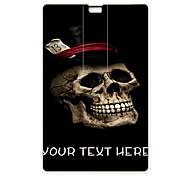 unidade flash USB flash drive personalizado cartão de 8 GB USB padrão legal do crânio