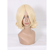 Capless Synthetic Wig 12inch Wavy Wig
