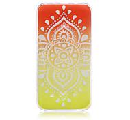 Orange Light  Pattern TPU Phone Case For Samsung Galaxy J5