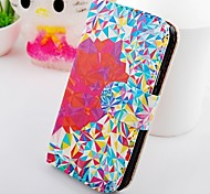 About Color Triangle  Wallet Stand PU Leather Case For Samsung Galaxy S2 SII I9100