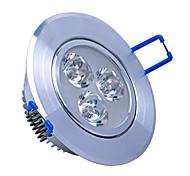3w downlights 3 led ad alta potenza 240LM bianco caldo / freddo bianco ac decorativo 85-265V yangming 5 pezzi