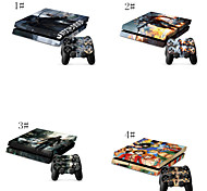 Digital Camo Prints/Designs/Patterns Designer Vinyl Skin for Gaming Console and Free Controller Sticker Decal for PS4